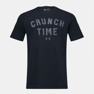NWT UNDER ARMOUR Crunch Time Graphic T-Shirt M
